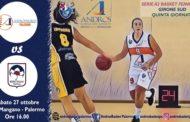 Lega A2 Femminile girone Sud 2018-19 V^giornata: a Palermo AndrosBasket e Magnolia Campobasso misurano le loro ambizioni