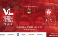 LBA - Legabasket PosteMobile #Round4 2018-19: Davide vs Golia ovvero VL Pesaro vs AX Armani Exchange Milano