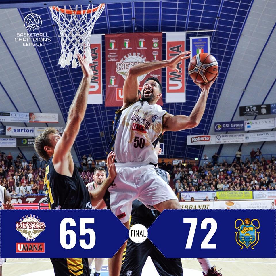 FIBA Basketball Champions League #Round4 2018-19: Tenerife consegna alla Reyer la prima stecca stagionale