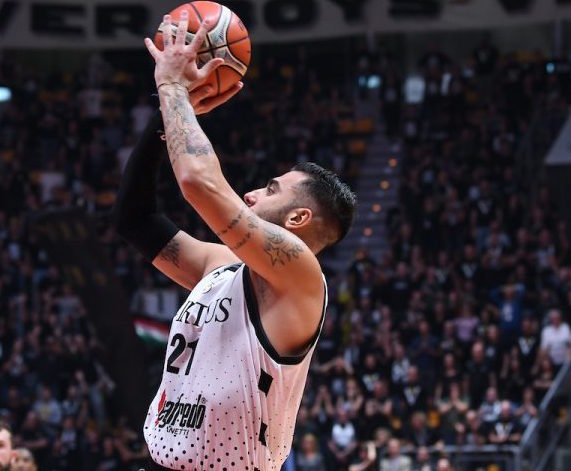 Fiba Basketball Champions League #Round7 2018-19: le immagini della 7^vittoria su sette partite della VBologna in Europa, a Patrasso questa volta