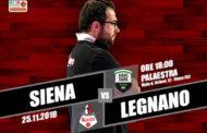 A2 Ovest Old Wild West 9^giornata 2018-19: i raggi X dei Legnano Knights alla ON Sharing Siena