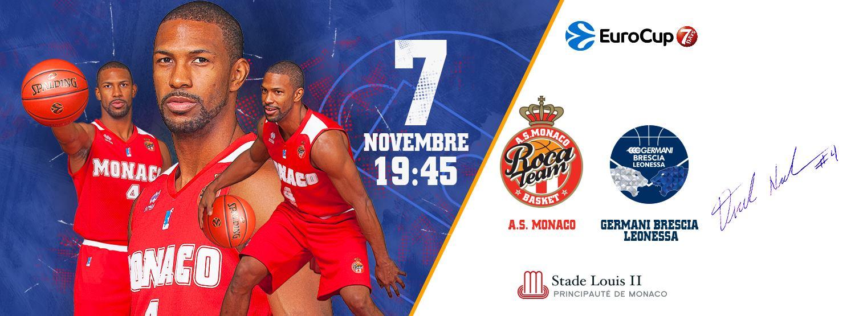 7Days EuroCup #Round6 2018-19: inizia il girone di ritorno anche per la Germani Basket Brescia che deva fare l'impresa vs l'AS Monaco