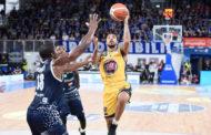 Lega A PosteMobile 2018-19 8^ giornata 2018-19: la FIAT Torino cade ancora sconfitta dalla Germani Basket Brescia al PalaLeonessa 83-76