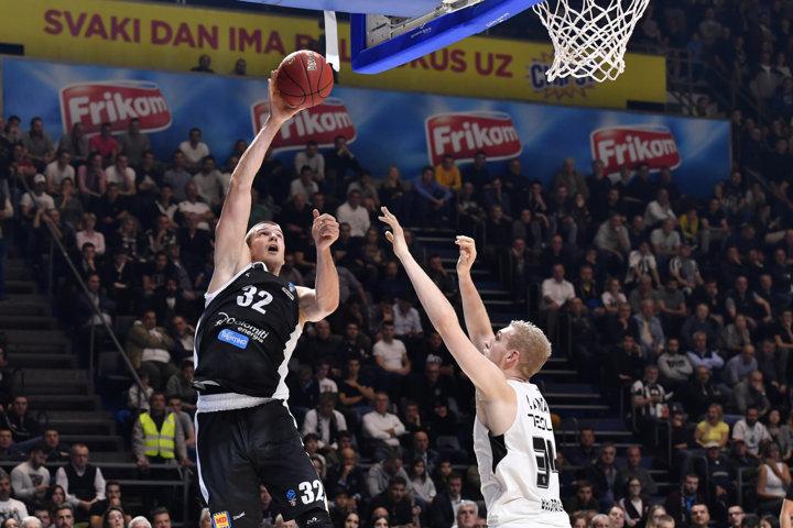 7Days EuroCup #Round6 2018-19: la Dolomiti Energia Trentino questa volta lotta ma deve arrendersi al Partizan nel finale 76-71