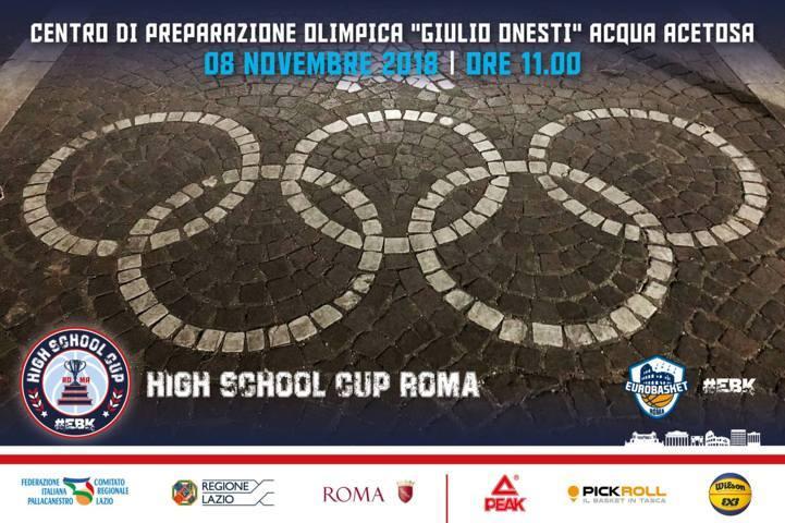 Giovanili Maschili Femminili 3x3 2018-19: nasce a Roma il primo torneo di basket per gli istituti superiori