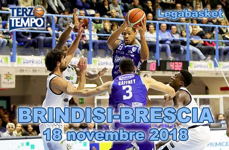 Lega A PosteMobile 7^ giornata 2018-19: in Terzo Tempo riviviamo le emozioni di Happy Casa Brindisi vs Germani Basket Brescia