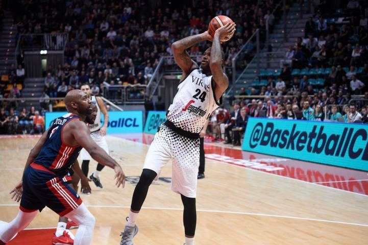 FIBA Basketball Champions League #Round6 2018-19: la Virtus Bologna e Super Punter battono anche il SIG Strasburgo 87-81