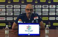 Lega A PosteMobile V^ giornata 2018-19: Frank Vitucci coach di Brindisi attende la lanciata Cantù: