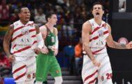 Turkish Airlines Euroleague 2018-19: altra grande vittoria in volata per l'Olimpia contro Baskonia ora sotto coi blaugrana