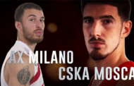 Turkish Airlines Euroleague #Round6: Olimpia-Cska, l'Armata Rossa trionferà?