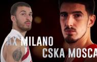 Turkish Airlines Euroleague #Round6: Olimpia-Cska, l'Armata Rossa trionferà?