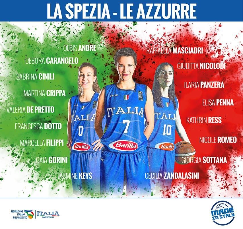 FIBA EuroBasket Women Qualifiers 2019: ecco le atlete convocate per il doppio impegno Italbasket in Croazia prima e vs la Svezia dopo
