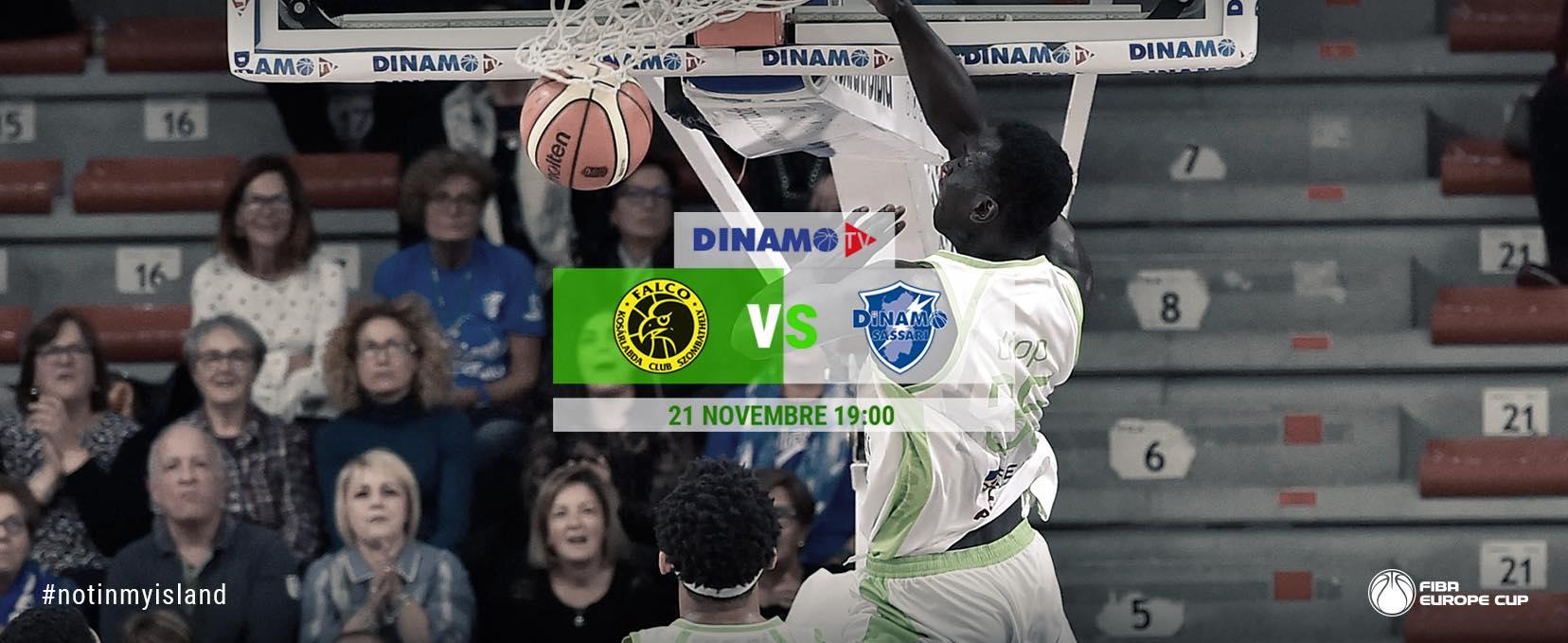 FIBA Europe Cup #Round6 2018-19: ultimo match nel gruppo H per la Dinamo Banco di Sardegna in Ungheria vs il Falco Vulcano per il primo posto