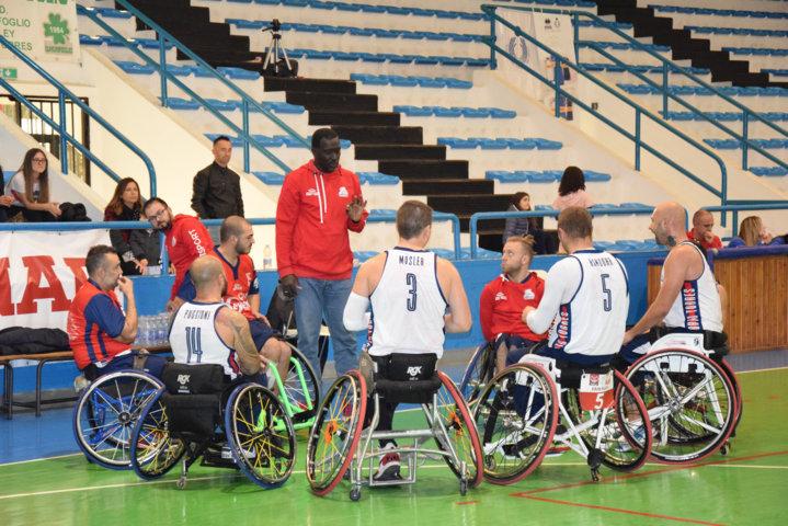 Basket in carrozzina IWBF Preliminary Rounds Champions League 2018-19: come da pronostico il BSR Amiab Albacete batte il GSD Key Estate nel 2° match dei PR in Germania