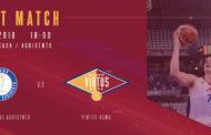 A2 Ovest Old Wild West 12^giornata 2018-19: Moncada Agrigento vs Virtus Roma