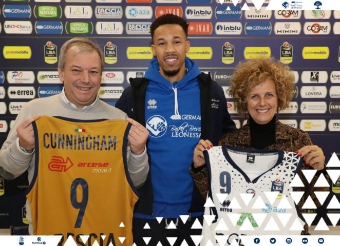 Lega A PosteMobile 2018-19: è arrivato Jared Cunningham a Brescia: