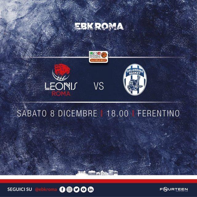 A2 Ovest Old Wild West 11^ giornata 2018-19: la Leonis Roma tenta il tris di vittorie in casa vs la rilanciata Benfapp Capo D'Orlando