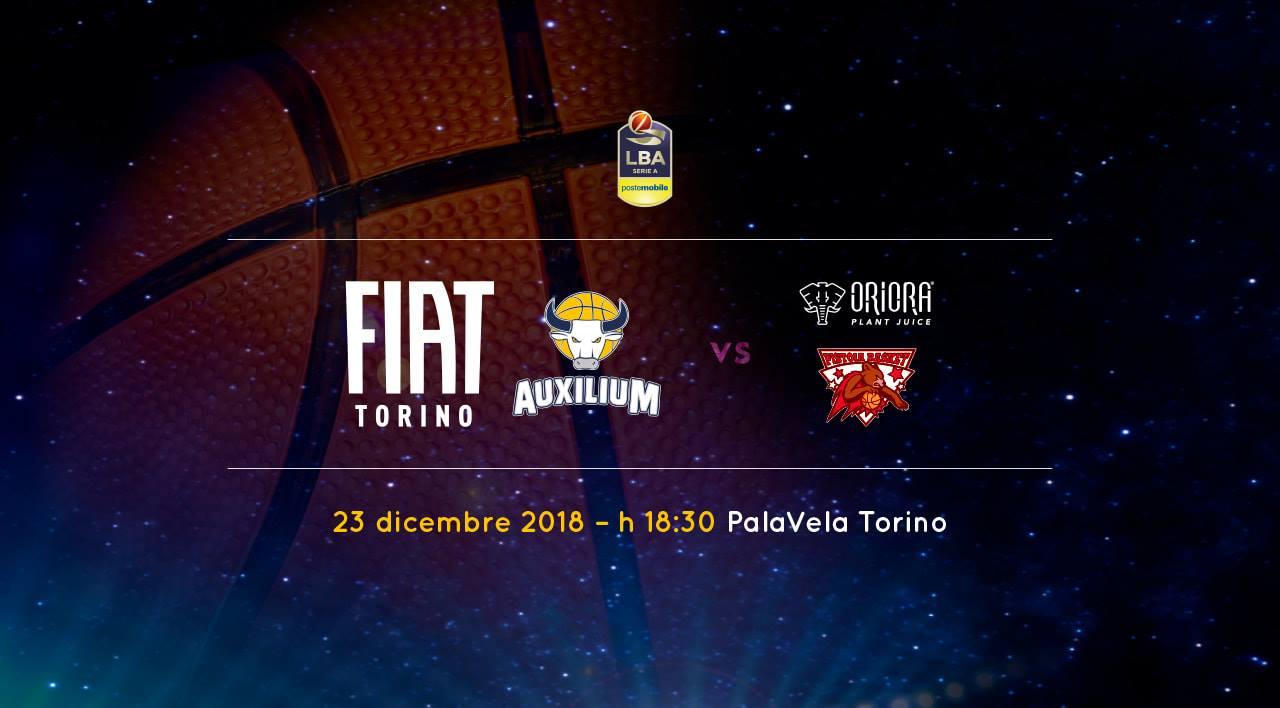 Lega A PosteMobile 11^giornata 2018-19: match molto delicato a Torino tra FIAT ed OriOra Pistoia in ballo anche la Coppa Italia