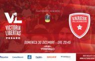 Lega A PosteMobile 13^giornata 2018-19: preview VL Pesaro - Openjobmetis Varese