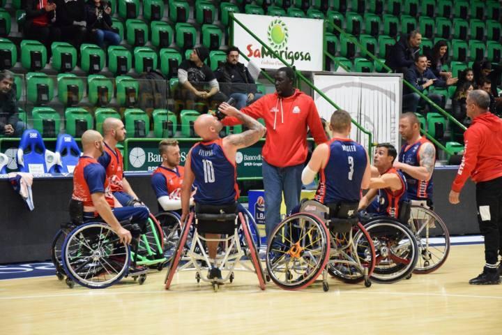 Basket in carrozzina #SerieAFipic 4^ giornata 2018-19: il derby di Sardegna è del GSD Key Estate Porto Torres sul campo della Dinamo Lab Sassari