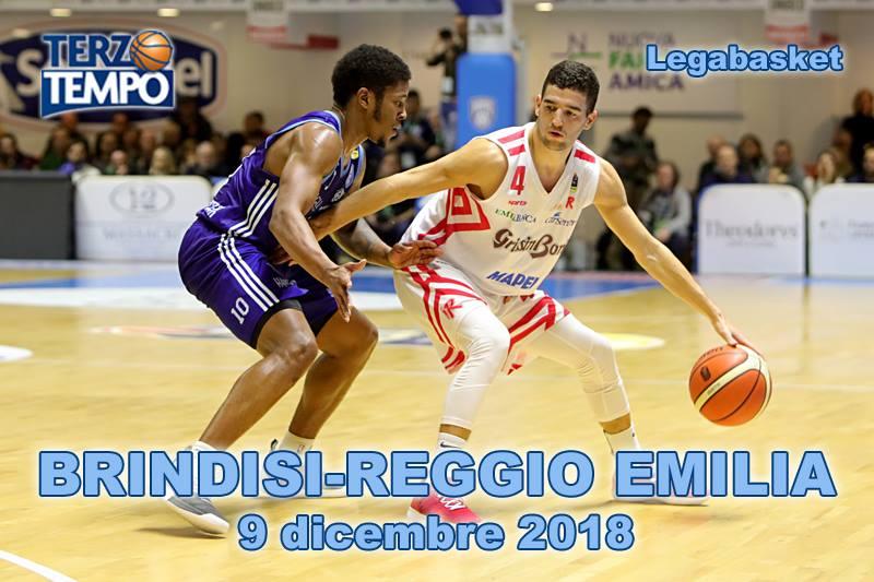 Lega A PosteMobile 9^ giornata 2018-19: ecco le belle immagini di Terzo Tempo di Happy Casa Brindisi vs Grissin Bon Reggio Emilia