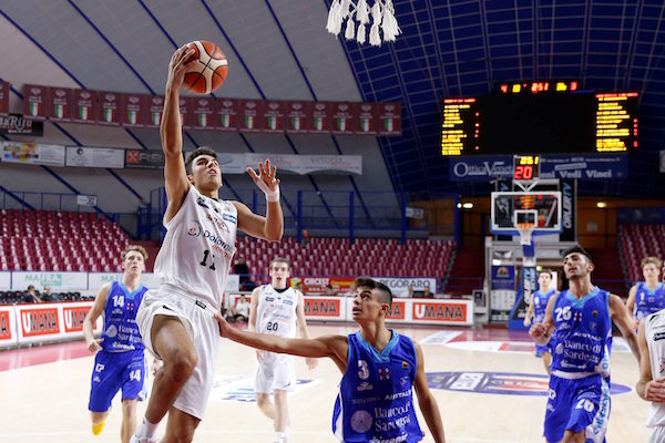 Lega Basket Serie A 2018-19: Scandone Avellino, Pallacanestro Cantù, Alma Trieste e Aquila Basket Trento alle Final 8 della Next Gen Cup