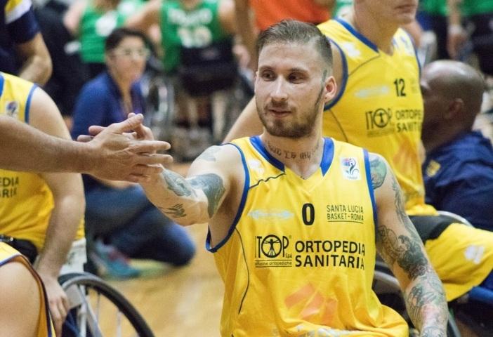 Basket in carrozzina #SerieAFipic 4^ giornata 2018-19: il colpaccio esterno del Santa Lucia in casa dell'Amicacci Giulianova all'OT consegna il primo posto della classifica alla Briantea84