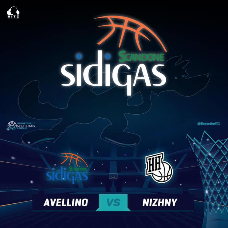 FIBA Basketball Champions League #Round8 2018-19: ad Avellino arriva il Nizhny Novgorod per il primo match del girone di ritorno parla coach Cavaliere