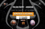 A2 Ovest Old Wild West 11^ giornata 2018-19: derby del Piemonte delicato tra Bertram Tortona ed Edilnol Biella