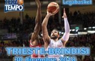 Lega A PosteMobile 13^giornata 2018-19: una perfetta Happy Casa Brindisi batte l'Alma Trieste riviviamo la gara in Terzo Tempo