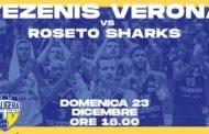A2 Est Old Wild West 13a giornata: i giovani Roseto Sharks provano a fermare Verona
