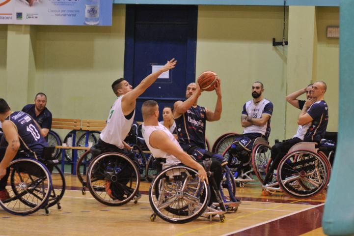 Basket in carrozzina #SerieAFipic 2^di ritorno 2018-19: sempre più capolista la Briantea84 che batte in casa il S.Stefano Avis nel #BigMatch per 56-64