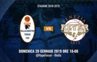 Lega A1 Femminile Sorbino Cup 14^giornata 2018-19: a Biella si gioca Iren Fixi Torino-Umana Venezia mentre le Lupebasket Fila San Martino giocano ad Empoli
