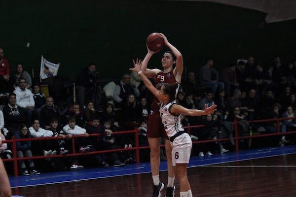 A2 Femminile girone Sud 1^di ritorno 2018-19: Gruppo Stanchi Athena-Magnolia Camobasso due modi diversi di leggere una partita...