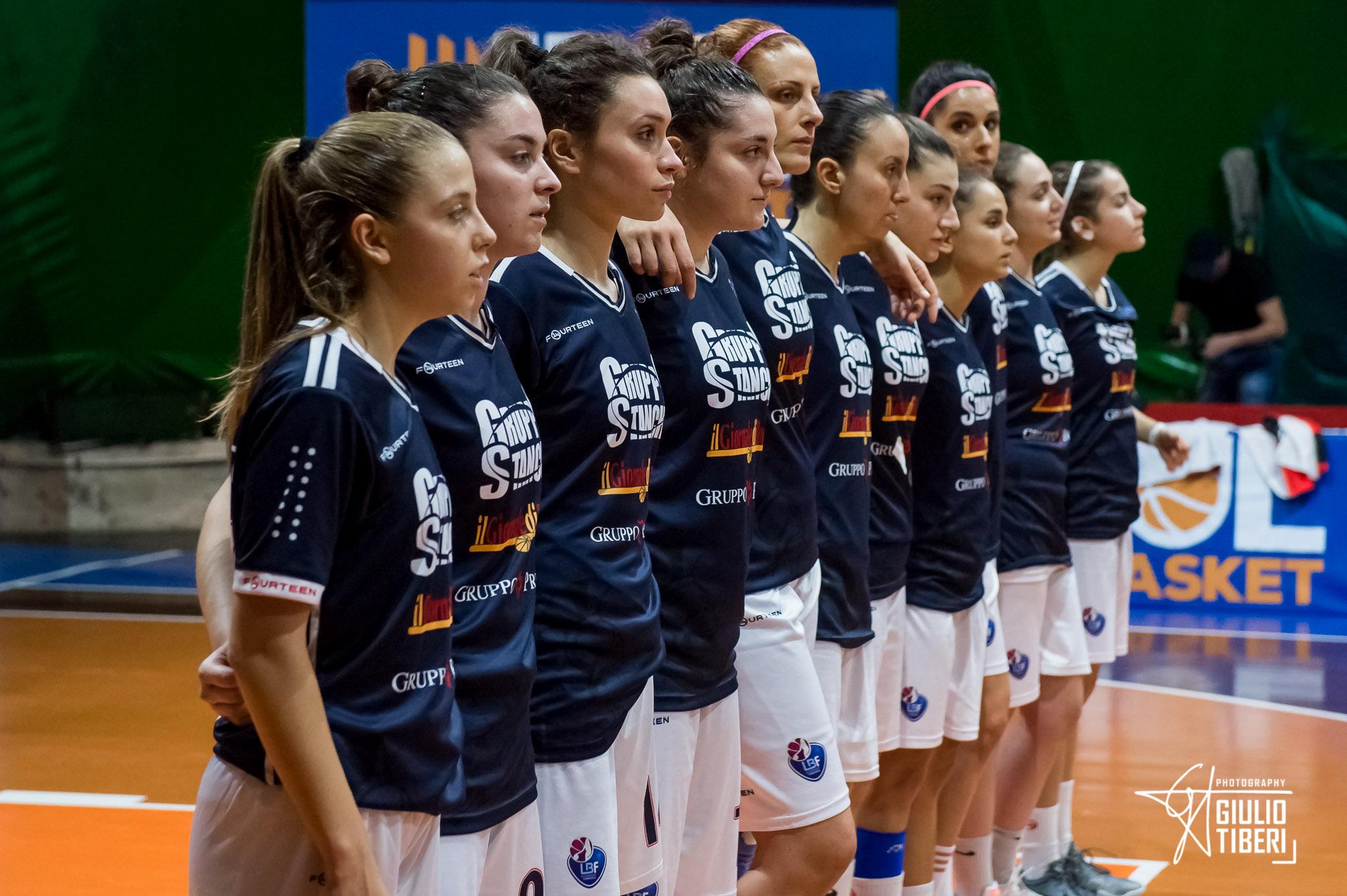A2 Femminile girone Sud 12^di ritorno 2018-19: in campo Gruppo Stanchi Athena, AndrosBasket Palermo, Elìte Roma, La Molisana Magnolia Campobasso