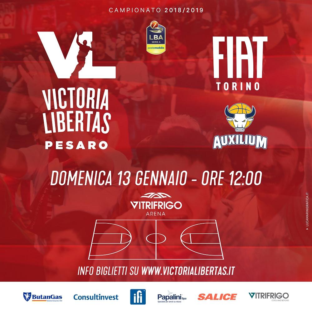 Lega A PosteMobile 15^giornata 2018-19: preview VL Pesaro - Fiat Torino