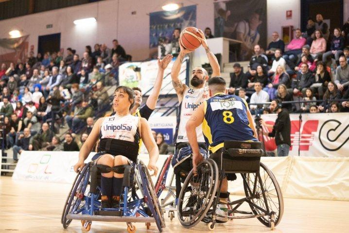 Basket in carrozzina #SerieAFipic 1^di ritorno 2018-19: il classico del campionato italiano termina a favore dell'UnipolSai Briantea84 Cantù che batte il Santa Lucia Basket Roma 70-36