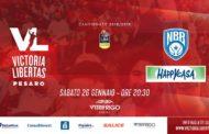 LBA - Legabasket A PosteMobile 2018-19: nell'anticipo del sabato sera VL Pesaro ed Happy Casa Brindisi cercano la terza vittoria consecutiva
