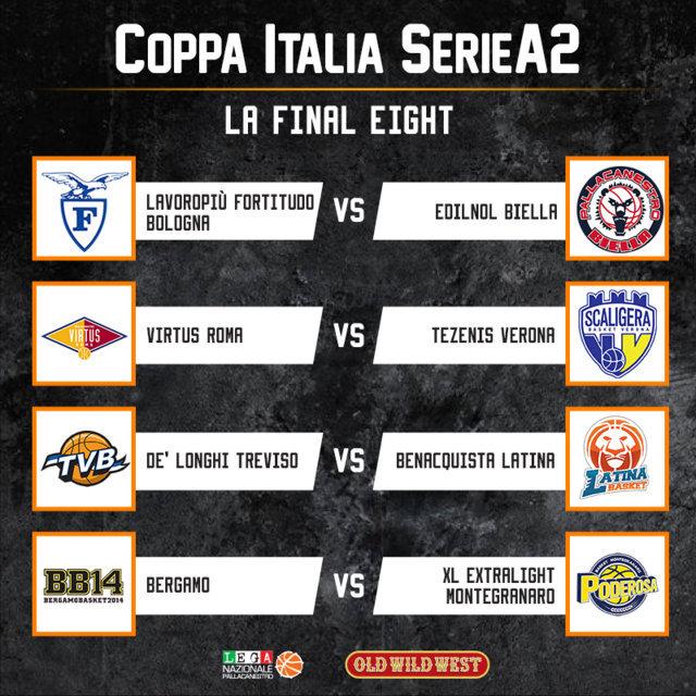 LNP Coppa Italia Old Wild West 2019: otto damigelle per un solo titolo da venerdì 1 marzo a Porto San Giorgio con Montegranaro naturale favorita