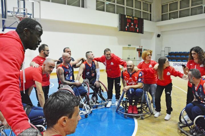 Basket in carrozzina #SerieA Fipic 6^ di ritorno: Giulianova e Porto Torres in campo per il terzo posto