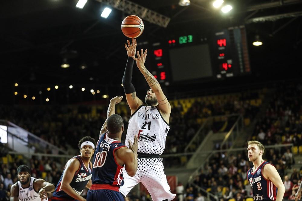 FIBA Champions League #Round13 2018-19: la Virtus si fa cogliere impreparata da uno Strasburgo solido e cinico in una partita equilibratissima