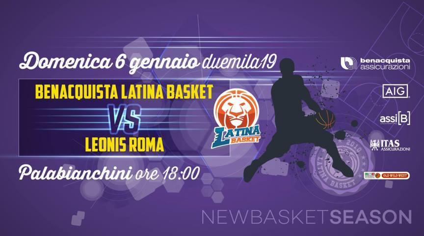A2 Ovest Old Wild West 15^giornata 2018-19: ad un passo dalla storica qualificazione in Coppa Italia di A2 ecco la sfida tra Latina e Leonis Roma