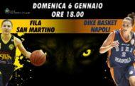 Lega Femminile A1 1^giornata ritorno 2018-19: al PalaLupe arriva la Dike Napoli per uno scontro importante per la 5^ piazza