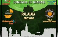 Serie B girone D Old Wild West 2^di ritorno 2018-19: Palestrina, adesso arriva la fase più difficile del campionato, arriva la Viola Reggio Calabria al PalaIaia