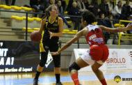 Lega A2 Femminile gironi Nord e Sud 1^di ritorno 2018-19: le Lupe del Fanola crollano in casa vs Bolzano a Nord, vincono a Sud in trasferta La Spezia, Faenza ed AndrosBasket