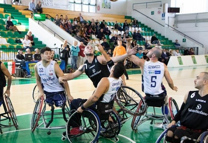 Basket in carrozzina #SeriAFipic 2^di ritorno 2018-19: è il turno dello scontro più atteso quello tra l'imbattuta Briantea84 ed il S.Stefano Avis