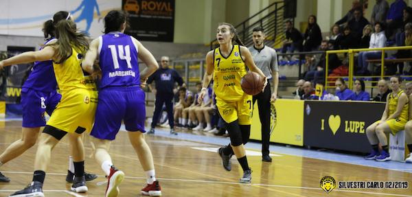 A2 Femminile girone nord e Sud 6^ di ritorno 2018-19: le vittorie del Fanola San Martino, di Andros Basket Palermo e di Nico Pistoia