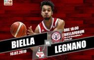 A2 Ovest Old Wild West 6^di ritorno 2018-19: a Biella vs l'Edilnol l'Axpo Legnano non può permettersi di perdere