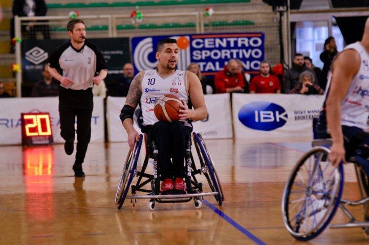 Basket in carrozzina IWBF Preliminary Rounds Champions League 2018-19: ottima Briantea84 che batte anche l'Amburgo 59-56 e si qualifica alla seconda fase del torneo