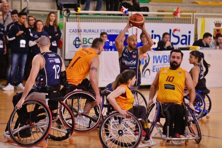 Basket in carrozzina IWBF Preliminary Rounds Champions League 2018-19: ottimo esordio per la Briantea84 che supera i temuti turchi del Galatasaray per 55-59